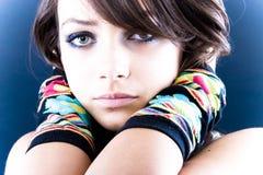 Belleza adolescente sola Foto de archivo libre de regalías