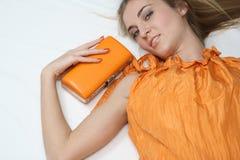 Belleza anaranjada Foto de archivo libre de regalías