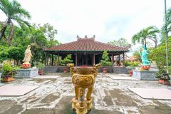 Belleza arquitectónica del templo antiguo en el campo Imagen de archivo