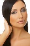 Belleza cabelluda negra Imagenes de archivo
