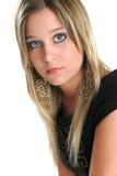 Belleza-cierre adolescente encima de 2 fotografía de archivo