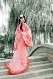 Belleza clásica en China. Fotos de archivo