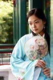 Belleza clásica en China. Imágenes de archivo libres de regalías