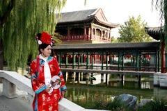 Belleza clásica en China. Imagenes de archivo