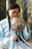 Belleza clásica en China. Foto de archivo libre de regalías