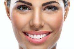 Belleza con sonrisa Imagen de archivo libre de regalías