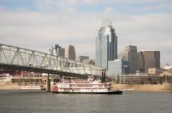 Belleza de Cincinnati fotografía de archivo libre de regalías