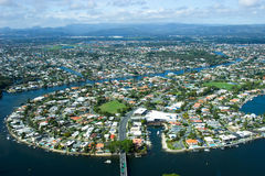 Belleza de Gold Coast Foto de archivo libre de regalías