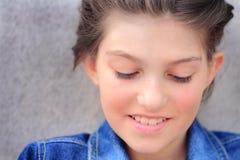 Belleza de la muchacha del tween Fotografía de archivo