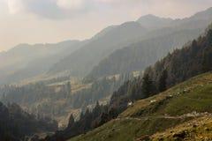 Belleza de la naturaleza de Himachal Pradesh, la India Foto de archivo libre de regalías