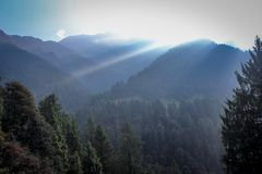 Belleza de la naturaleza de Himachal Pradesh, la India Foto de archivo