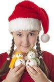Belleza de la Navidad Fotografía de archivo