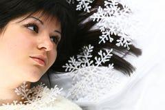 Belleza de la Navidad imagen de archivo libre de regalías