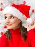 Belleza de la Navidad Foto de archivo libre de regalías