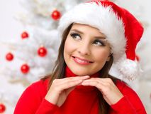 Belleza de la Navidad Fotos de archivo libres de regalías