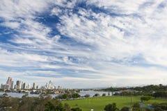 Belleza de la nube Imagen de archivo libre de regalías