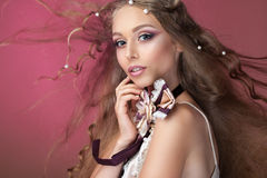 Belleza de la perla de la perla imagenes de archivo