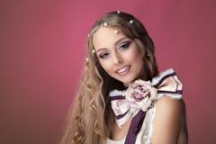 Belleza de la perla de la perla foto de archivo libre de regalías
