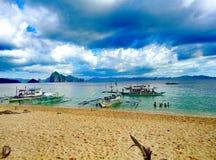 Belleza de la playa Foto de archivo libre de regalías
