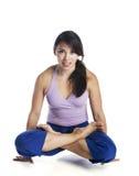 Belleza de la yoga Imagen de archivo libre de regalías