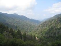 Belleza de las montañas ahumadas Foto de archivo