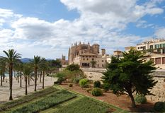 Belleza de Palma de Majorca Fotos de archivo libres de regalías