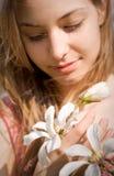 Belleza de resorte en naturaleza con las flores. Fotos de archivo libres de regalías