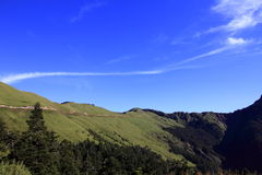 Belleza de Taiwán - montaña de Hehuan Foto de archivo libre de regalías