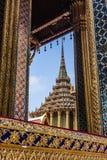 Belleza de Wat Phra Kaew Foto de archivo libre de regalías
