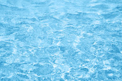 Belleza del agua azul de polvo Fotos de archivo libres de regalías