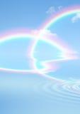 Belleza del arco iris ilustración del vector