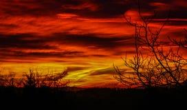 Belleza del cielo Foto de archivo libre de regalías