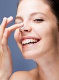 Belleza del cuidado de piel. Imagenes de archivo