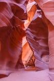 Belleza del extracto del barranco del antílope Fotografía de archivo libre de regalías