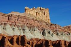 Belleza del filón del capitolio, Utah Fotografía de archivo libre de regalías
