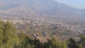 Belleza del haripur Paquistán de Paquistán la ciudad del abotabad de las montañas Imagen de archivo libre de regalías