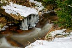 Belleza del hielo Imagen de archivo libre de regalías