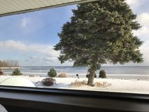 Belleza del lago Superior Fotos de archivo