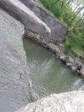 Belleza del paisaje del agua bastante fotos de archivo