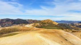 Belleza del paisaje de Islandia en Europa Foto de archivo libre de regalías