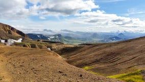 Belleza del paisaje de Islandia en Europa Fotos de archivo libres de regalías