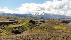 Belleza del paisaje de Islandia en Europa Imagenes de archivo