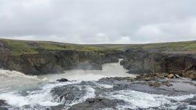 Belleza del paisaje de Islandia en Europa Imágenes de archivo libres de regalías