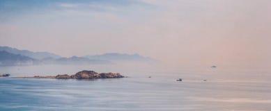 Belleza del paisaje marino fotografía de archivo