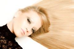 Belleza del pelo imagenes de archivo