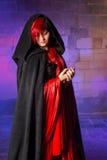 Belleza del vampiro Imágenes de archivo libres de regalías
