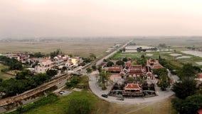 Belleza desde arriba de un templo antiguo fotos de archivo