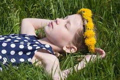 Belleza durmiente Imagenes de archivo
