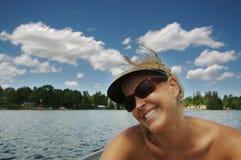 Belleza en el lago fotos de archivo