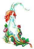 Belleza en naturaleza stock de ilustración